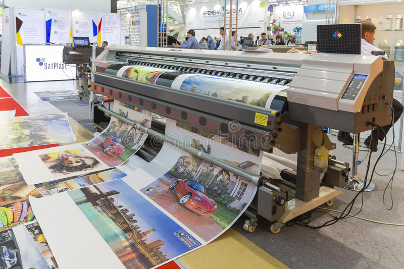 International Trade Fair REKLAMA royalty free stock photo