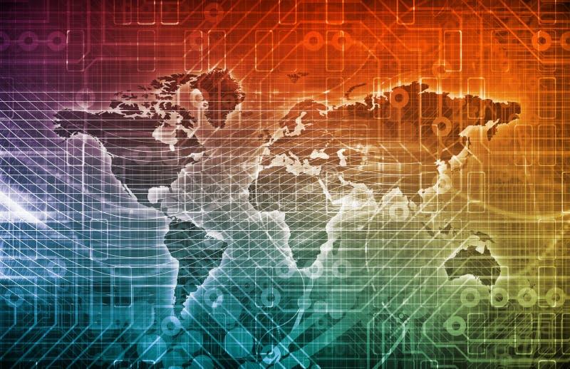 International Trade stock illustration