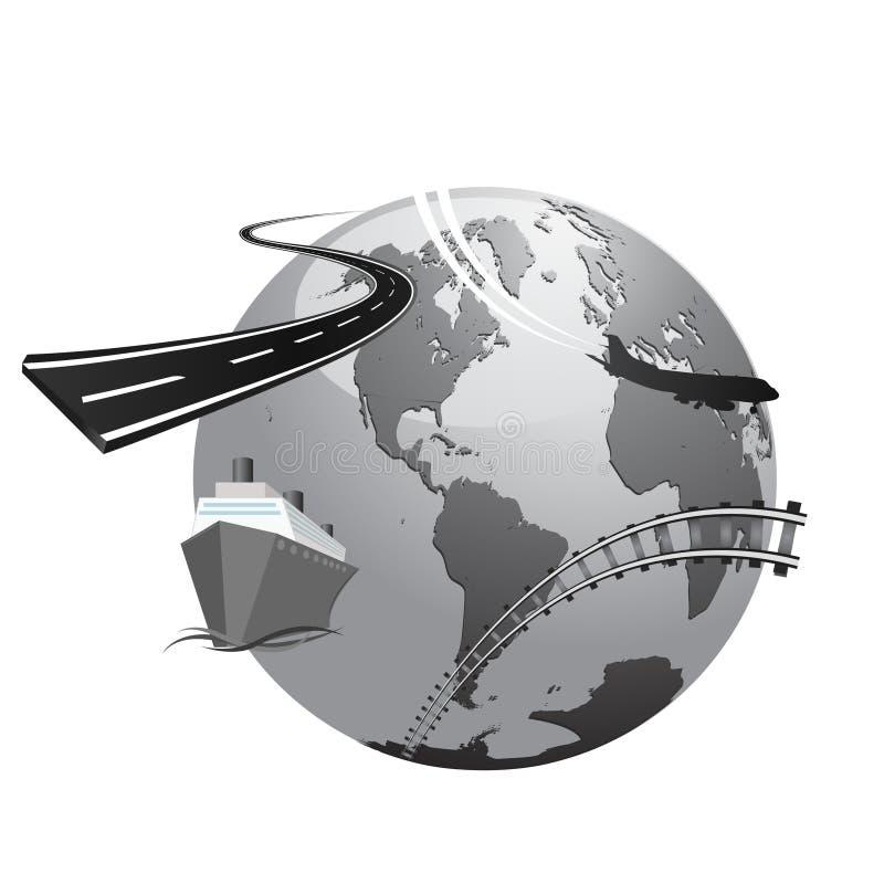 Download International Transport Concept Stock Vector - Image: 11026392