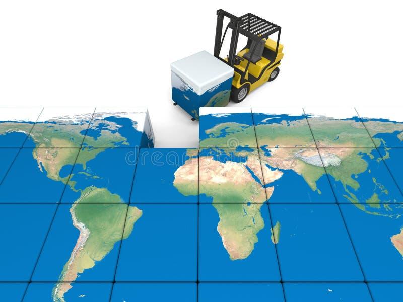 Download International Transportation Stock Illustration - Image: 36989195