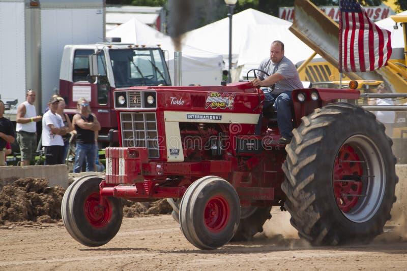 International Turbo Bushville Lanes Tractor royalty free stock photography