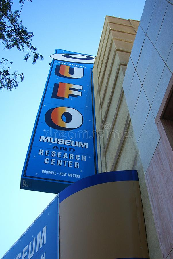 International UFO Museum & Research Center- Roswell, New Mexico royalty free stock photos