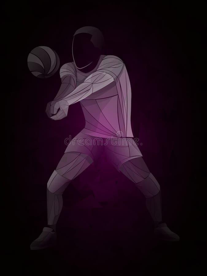 International volleyball, volleyball live, play volleyball, women volleyball, volleyball player stock illustration