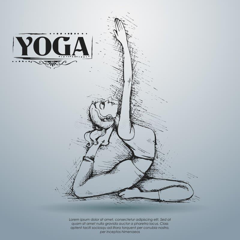 International Yoga Day Stock Vector Illustration Of Physical 93927807