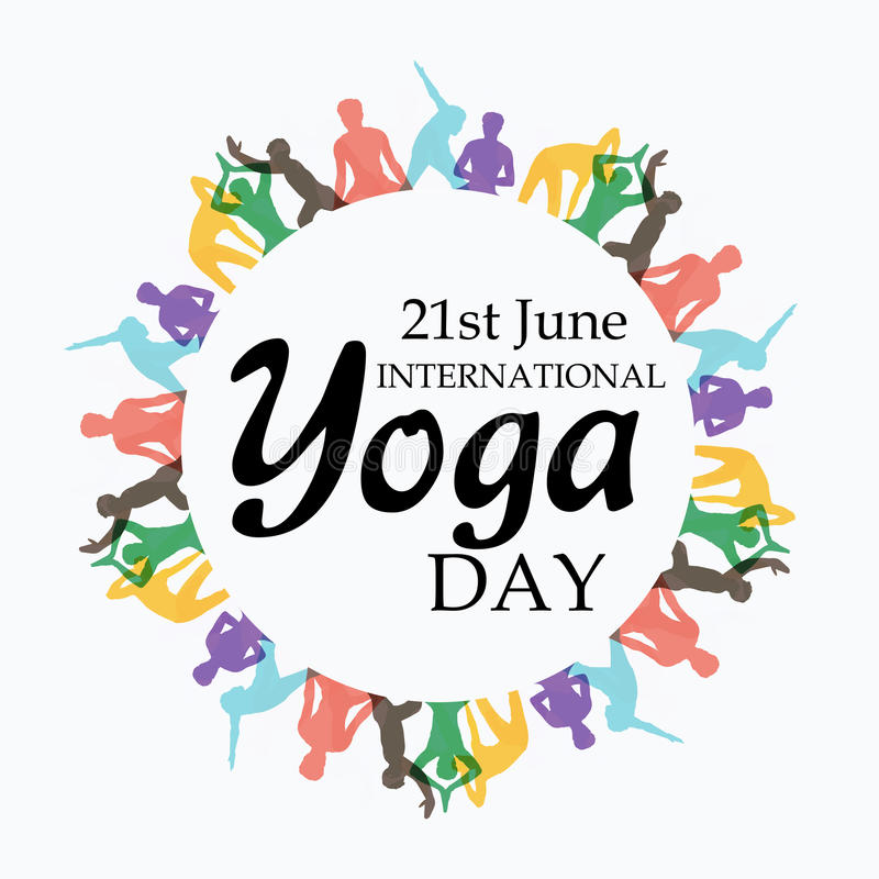 Download International Yoga Day Stock Illustration Of Illustrator