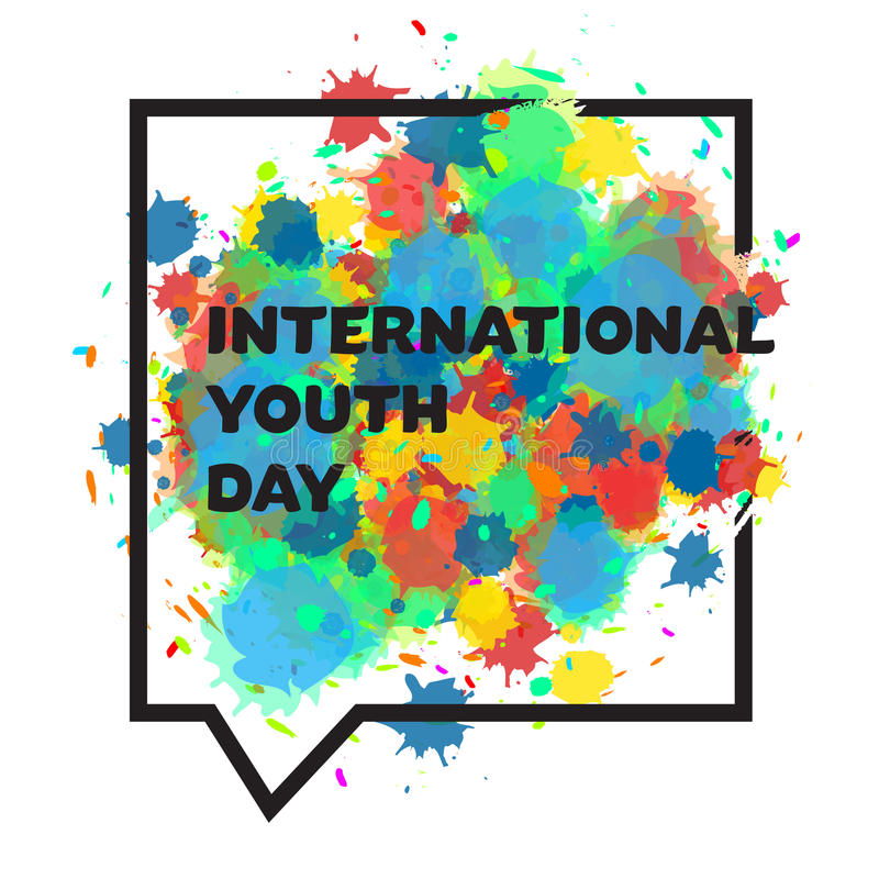 International youth day banner stock illustration illustration of download international youth day banner stock illustration illustration of friend colorful 71861523 stopboris Image collections