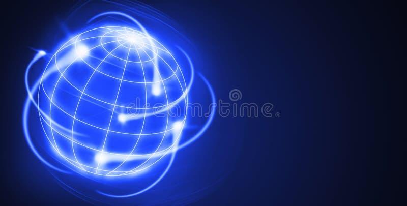 Internationale activiteiten vector illustratie