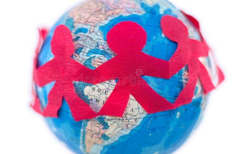 Internationale Beziehungen lizenzfreie stockfotografie