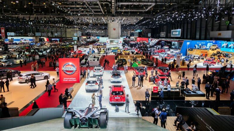 Internationale de Motorshow van Genève royalty-vrije stock foto's