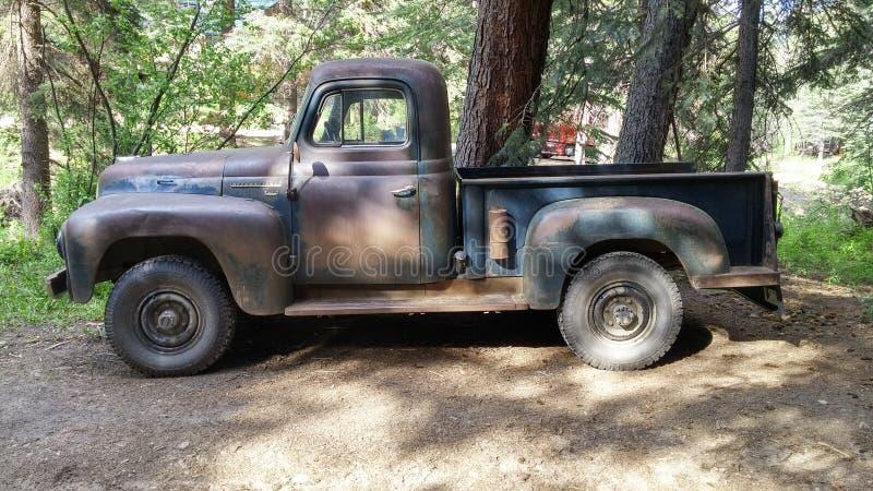 Internationale 220 halve tonbestelwagen 1954 royalty-vrije stock afbeelding