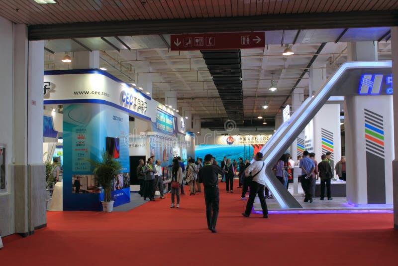 Internationale High-tech Expo royalty-vrije stock foto