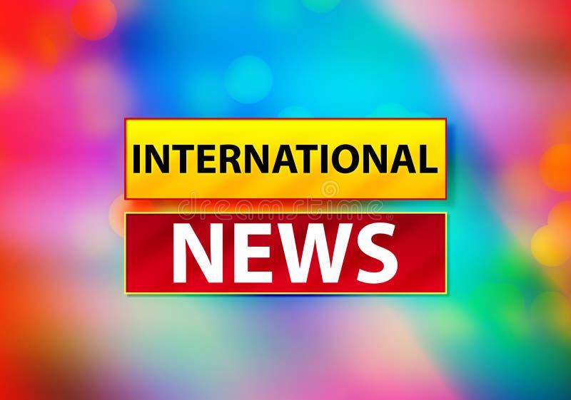 Internationale Nachrichten