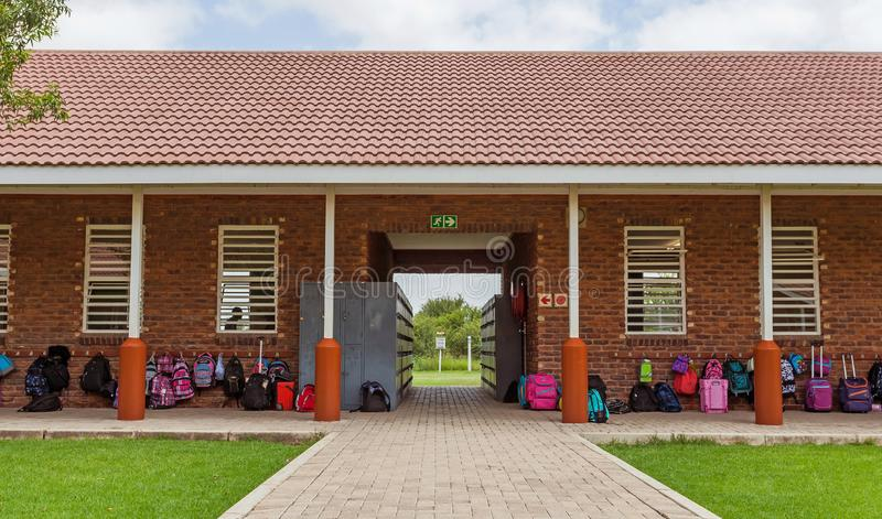 Internationale School van Zuid-Afrika stock foto