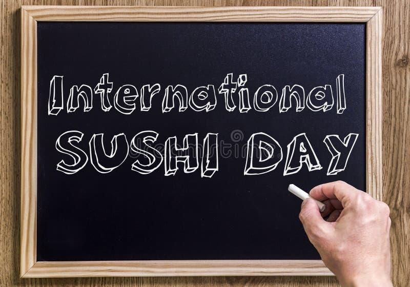 Internationale Sushidag stock foto