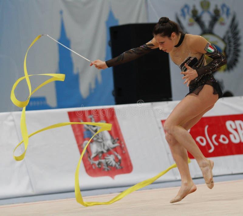 Internationale Toernooien in Ritmische Gymnastiek stock afbeelding