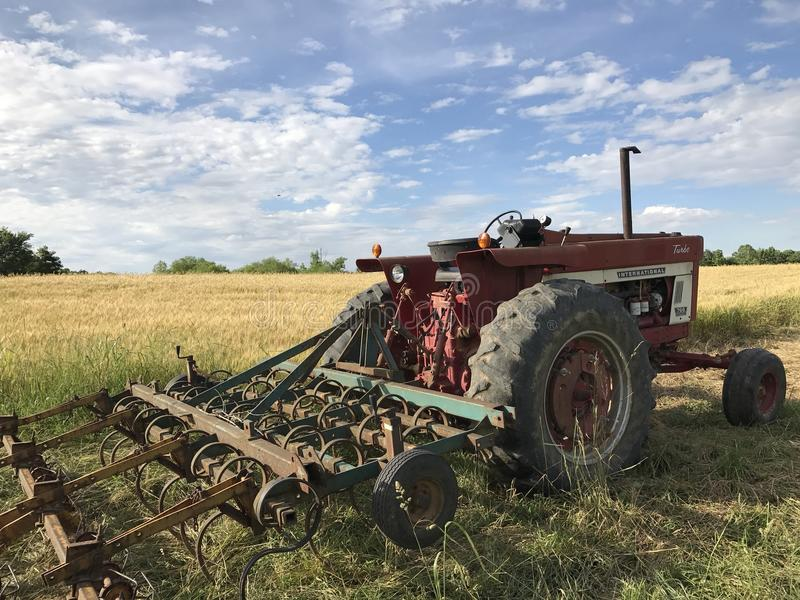 Internationale Tractor royalty-vrije stock afbeelding