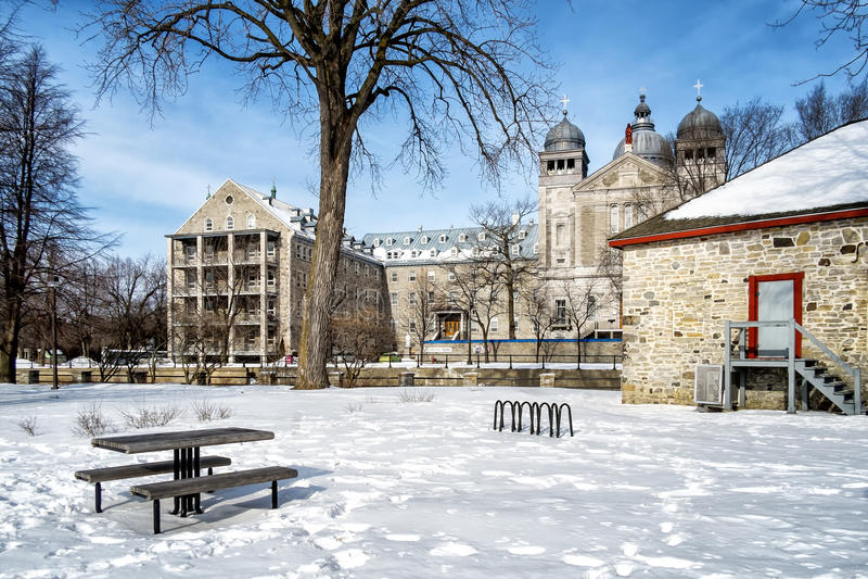 Internationale universiteit sainte-Anne royalty-vrije stock fotografie