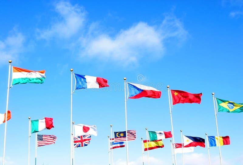 Internationale zaken royalty-vrije stock foto