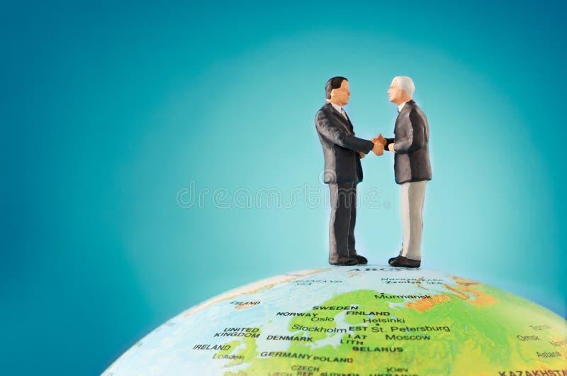 Internationale zaken stock foto's