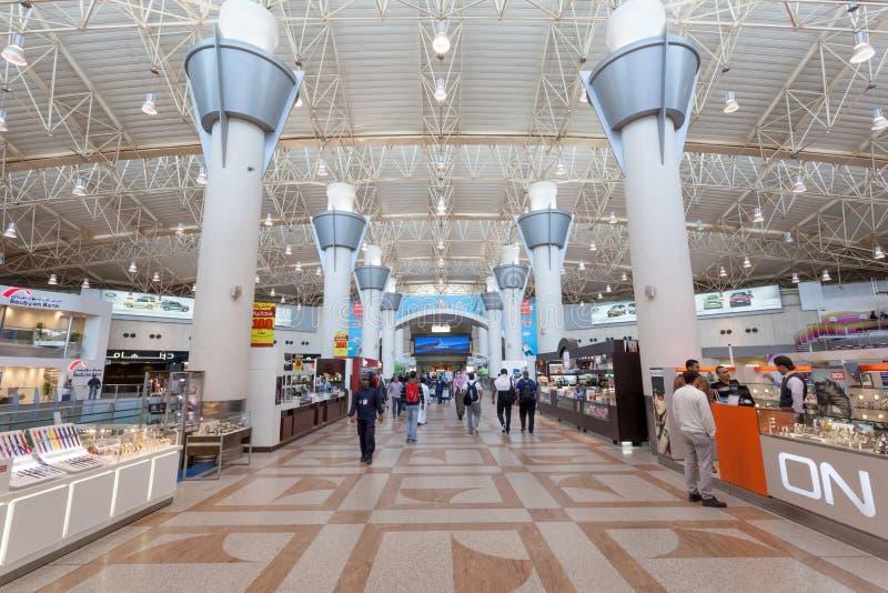 Internationaler Flughafen Kuwaits stockbilder