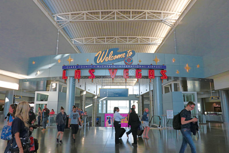 Flughafen Las Vegas Ankunft