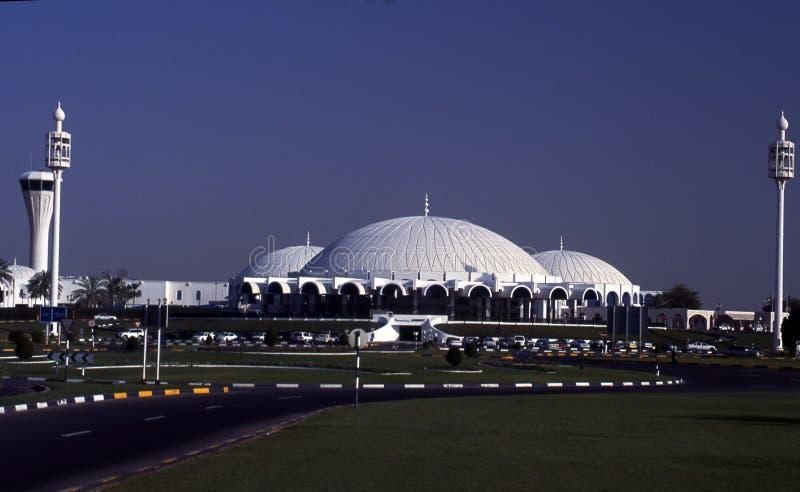 Internationaler Flughafen Scharjahs lizenzfreie stockbilder