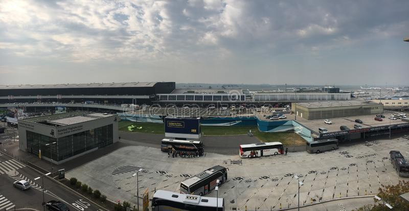 Internationaler Flughafen Wiens lizenzfreies stockfoto