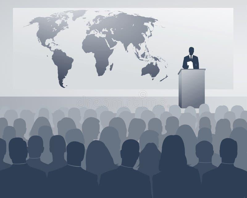 Internationaler Kongreß stock abbildung