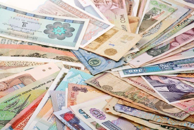 Internationales Finanzwesen stockfotos