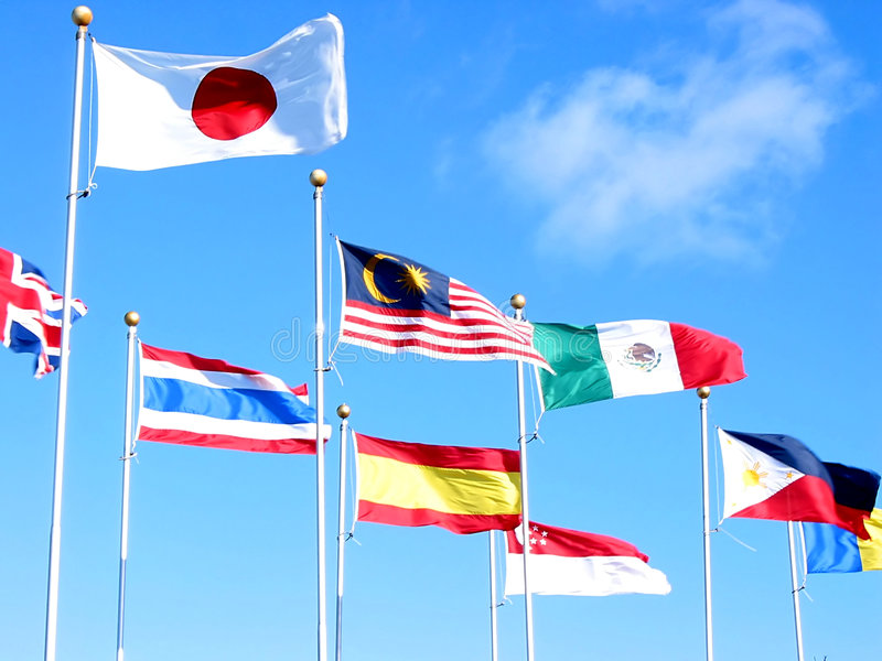 Internationales Geschäft 2 stockfoto