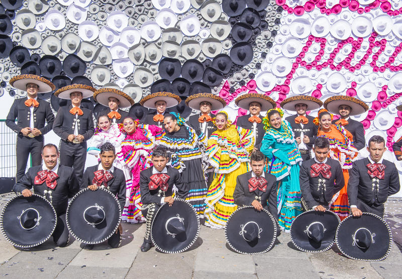 Internationales Mariachi- u. Charros-Festival lizenzfreie stockfotos