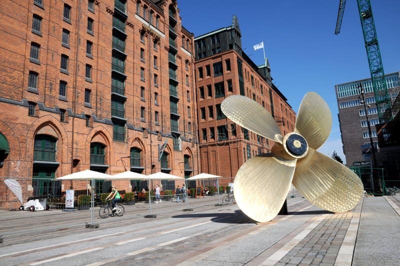 Internationales Maritimes muzeum Hamburg fotografia royalty free