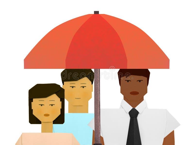 Internationell dag f?r elimineringen av rasdiskriminering vektor illustrationer