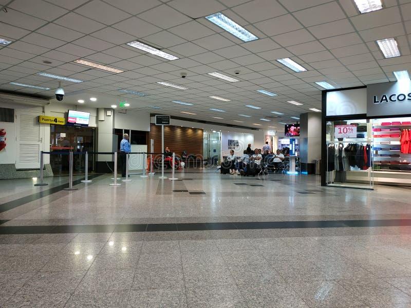Internationell flygplats för Asuncià ³ n i Paraguay arkivbilder