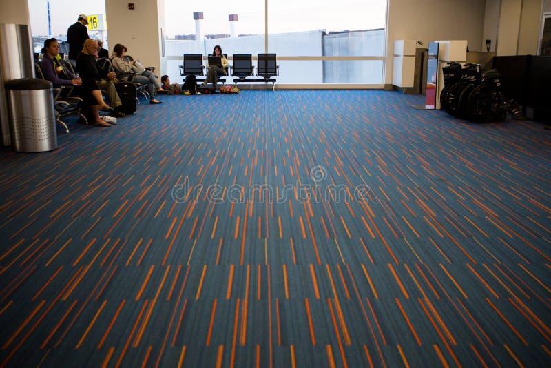 Internationell flygplats för JFK arkivfoto