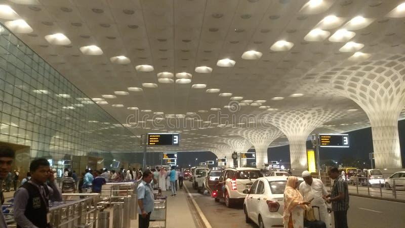 Internationell flygplats Mumbai för terminal 2 royaltyfri fotografi