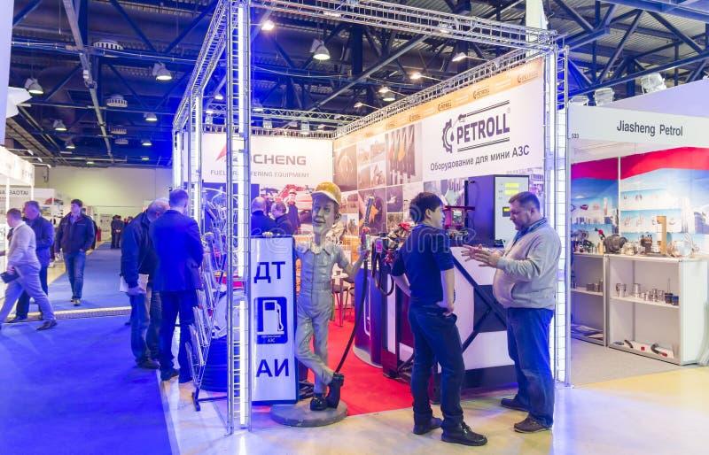 Internationell handelmässa AUTOCOMPLEX royaltyfri foto
