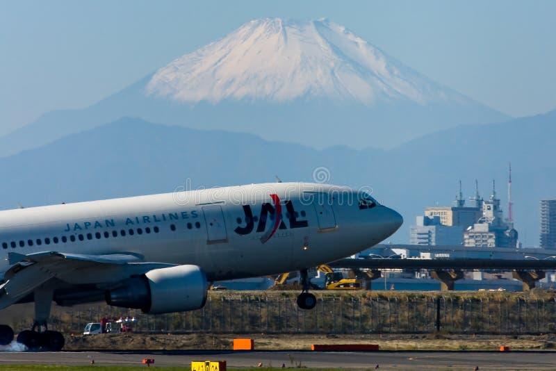internationell jal tokyo för flygplats a300 royaltyfri foto