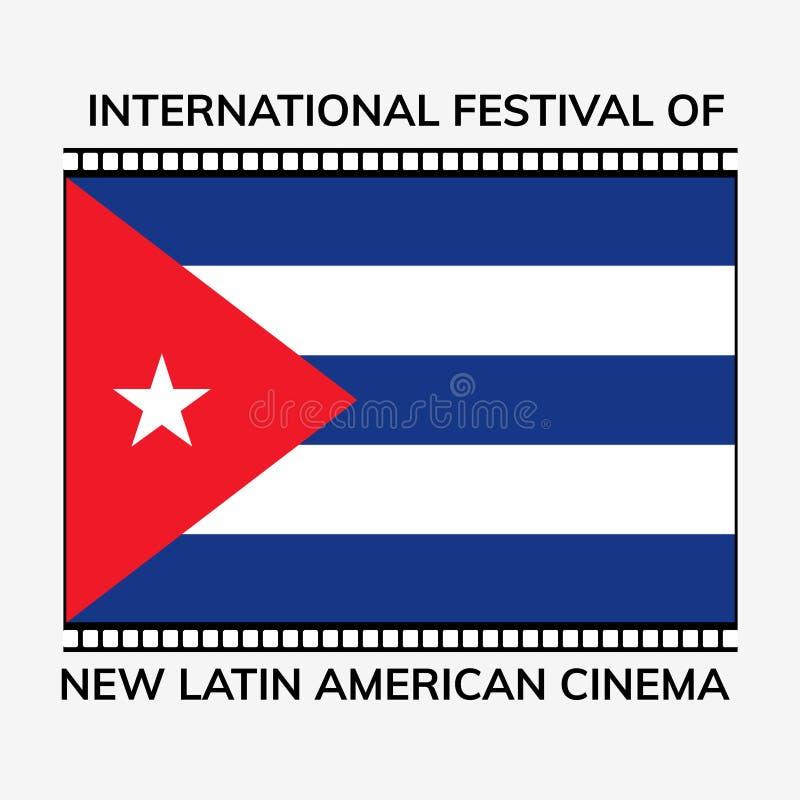 Internationell Latinamerikabiodag royaltyfri illustrationer