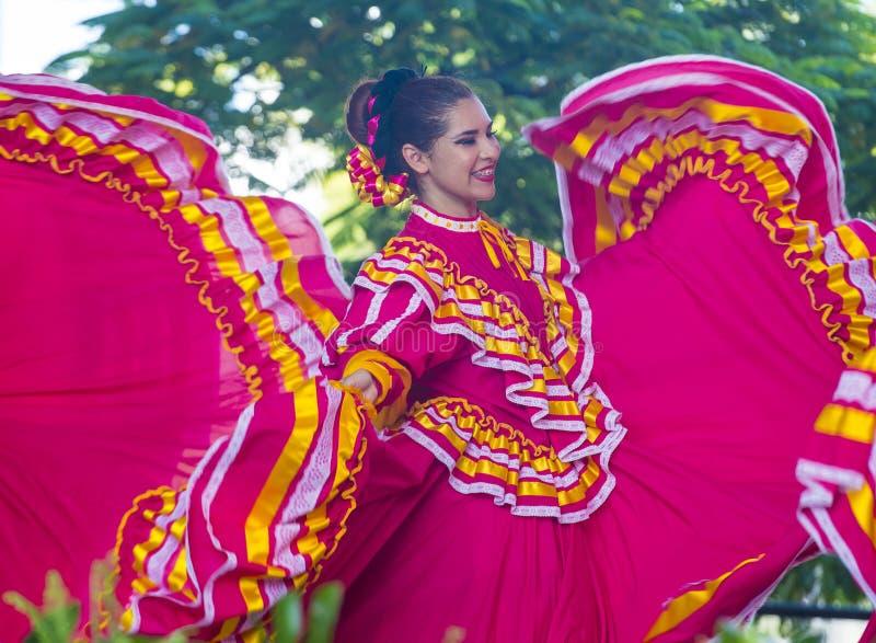 Internationell mariachi- & Charros festival royaltyfri fotografi