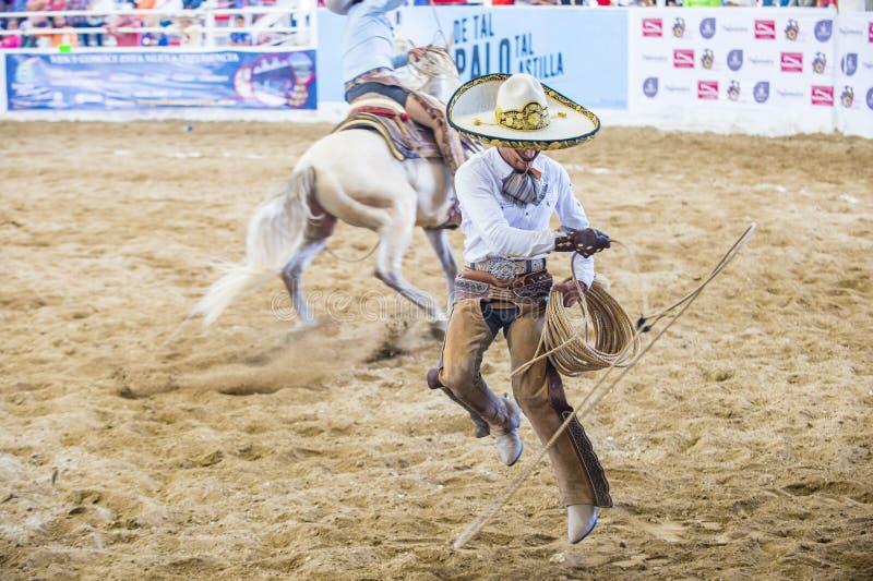 Internationell mariachi- & Charros festival arkivfoton