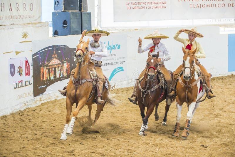 Internationell mariachi- & Charros festival arkivfoto