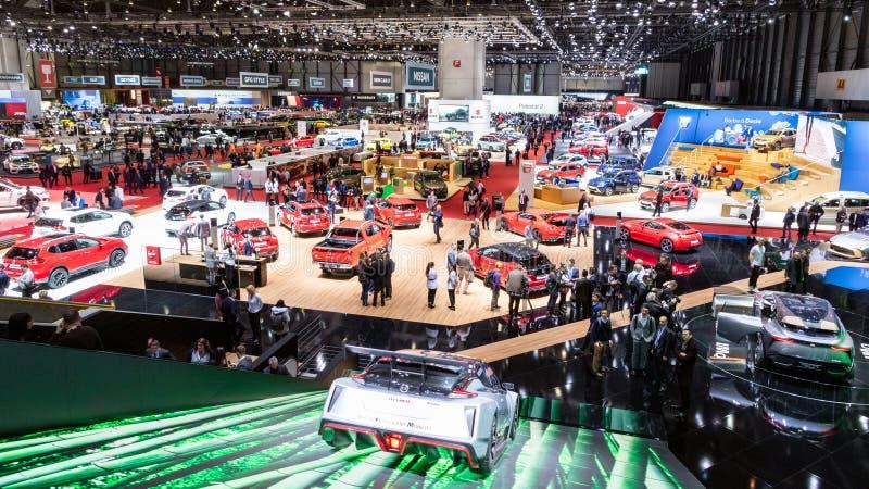 Internationell motorisk show för Genève royaltyfri foto