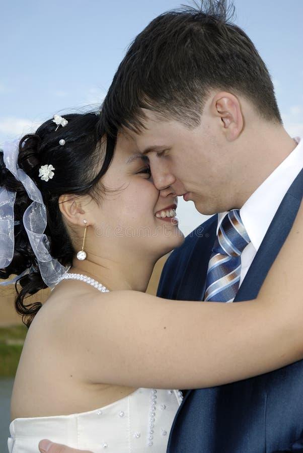 internationellt bröllop royaltyfri bild