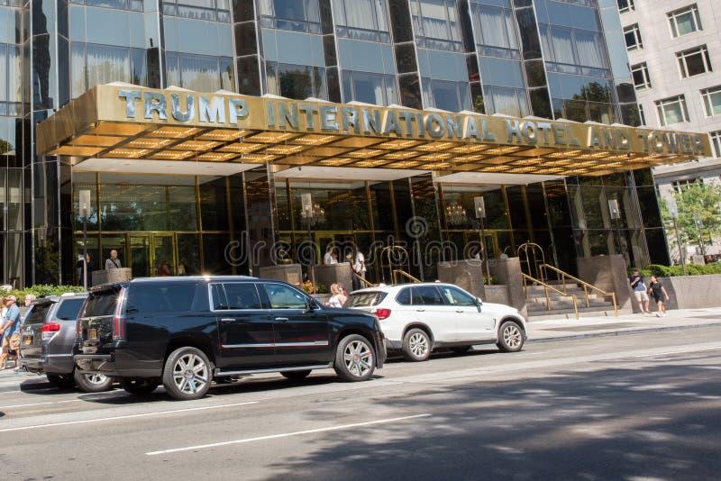 Internationellt hotell för trumf royaltyfri bild