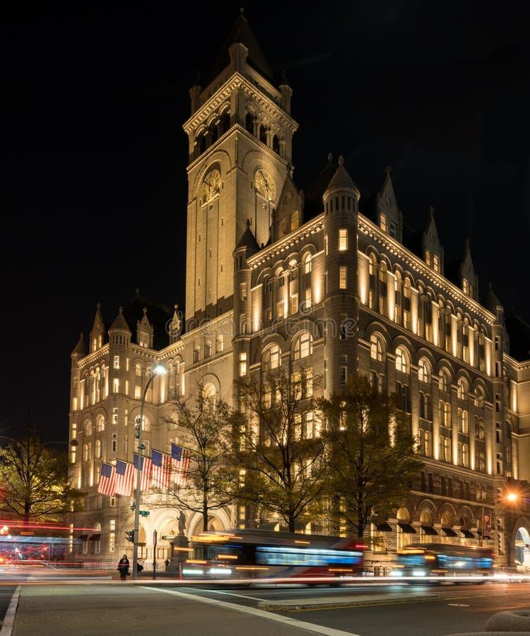 Internationellt hotell för trumf i Washington DC royaltyfri bild