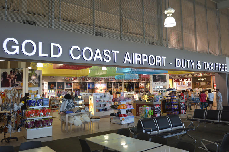 Internazionale Airpor della Gold Coast fotografia stock