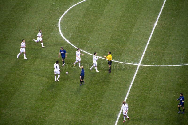 Internazionale - Chelsea royalty-vrije stock fotografie