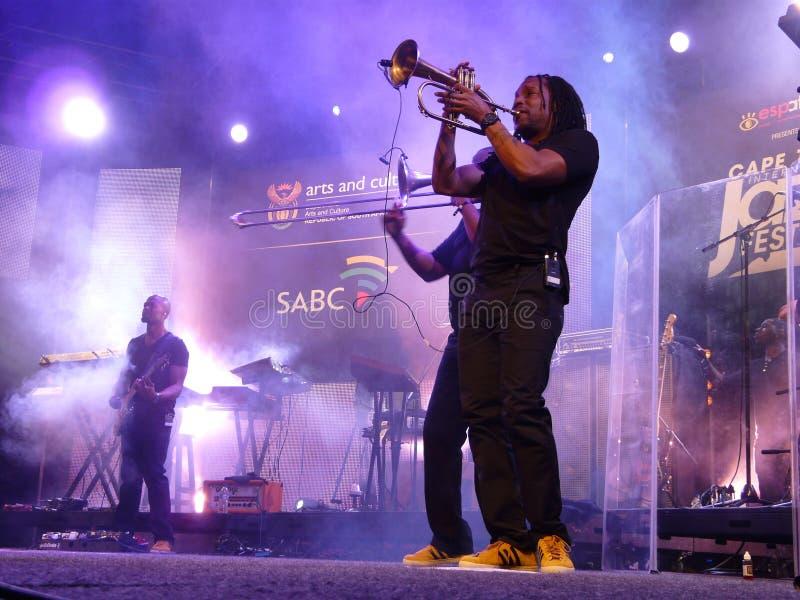Internazionale Jazz Festival di Cape Town immagini stock libere da diritti