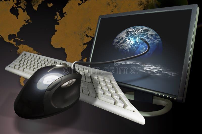 internet łączności ilustracja wektor